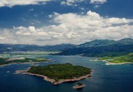Slano jezero u Crnoj Gori